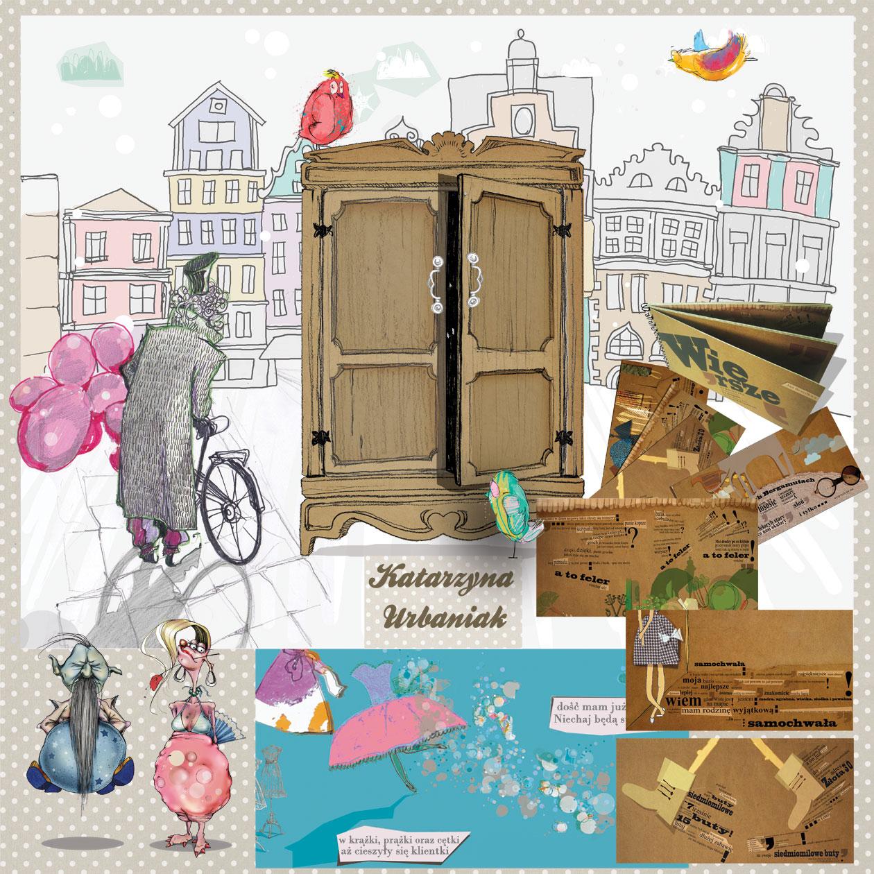 ilustracja dla dzieci Urbaniak ściana ilustratorów warszawa