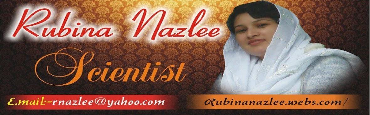 RUBINA NAZLEE;POETESS روبینہ نازلی; شاعرہ
