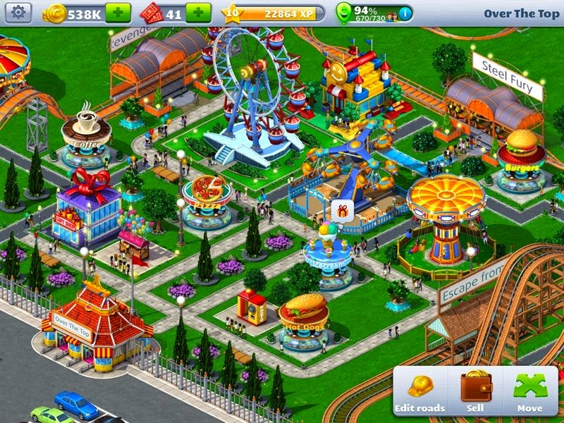 RollerCoaster Tycoon APK Mod