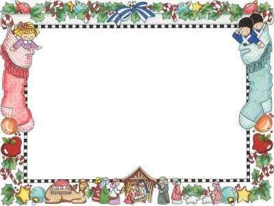 una tarjeta con marco y un fondo blanco para escribir