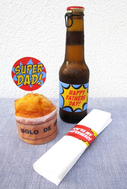 super dad Father's Day ideas Catch My Party free printables