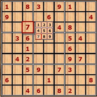 Game Sudoku, chơi game giải ô số sudoku