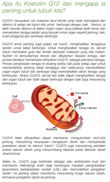 COQ Health Plus dengan COQ10 keluaran terbaru produk Shaklee