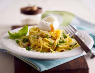 pasta con burro parmigiano e piselli