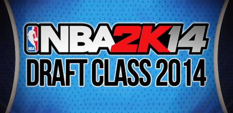 NBA 2K14 2014 Draft Class