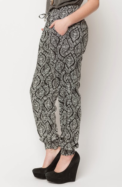Buy online medallion print track pant for women on sale at caralase.com