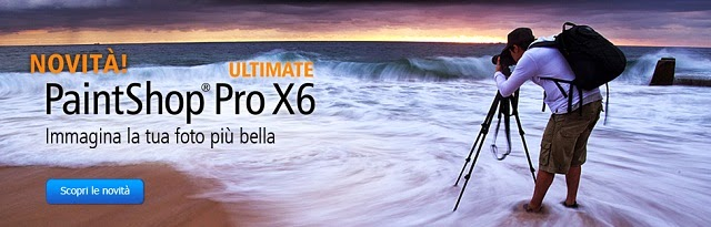 Banner del Corel PaintShop Pro X6 Ultimate a 64 bit
