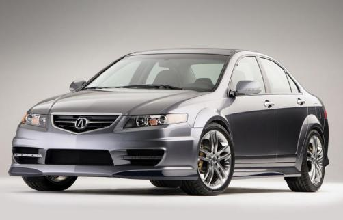 Best Sports Car Face 2005 Acura TSX A SPEC Concept Fast Car
