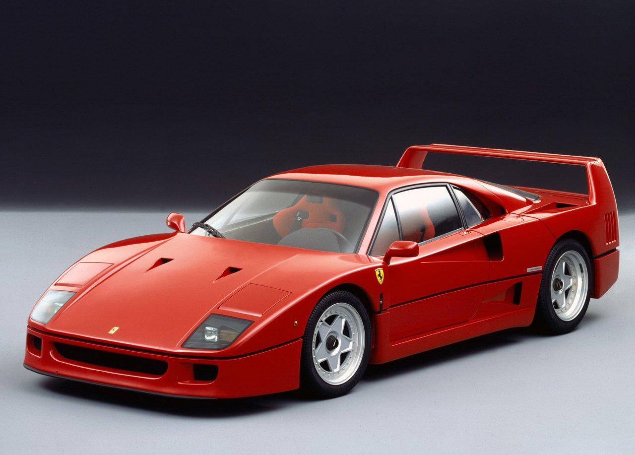 Ferrari F40 80's Clic-Fast Car Wallpaper 130 – Car Wallpaper