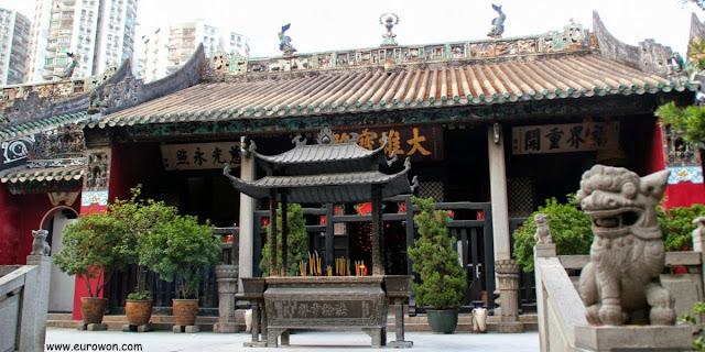 Templo budista Kun Iam Tong de Macao