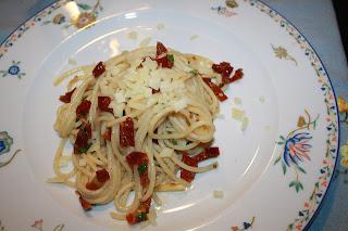 ricetta pasta pomodori secchi