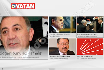 Windows 8 Vatan Gazetesi