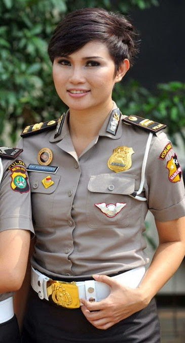 Hairstyle Mode 2014 Police Women Hair Model Indonesia 2014