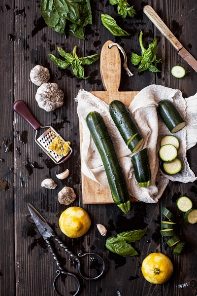 Zucchini Pesto Ingredients