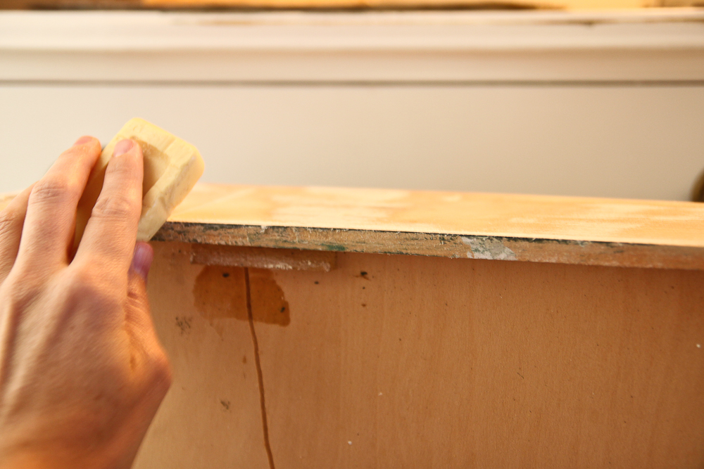 how to fix drawers on old dresser 3
