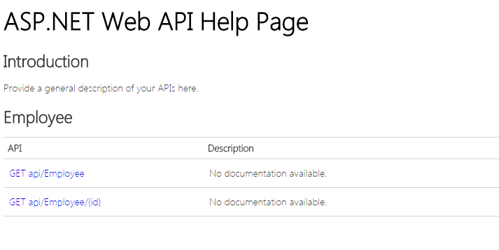 Output 1 of How To Create Help Pages For Asp.Net Web API