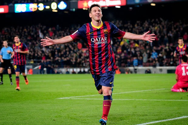 Messi adalah pemain terbaik yang pernah ada