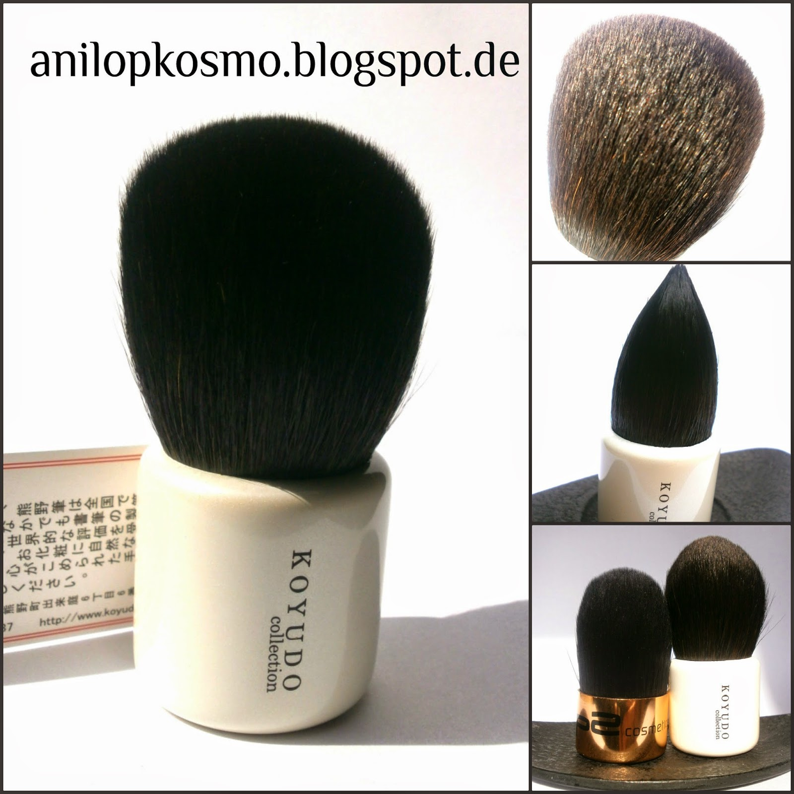 Koyudo H Brush Series Mushroom Brush Grey Sguirrel & Baby Goat  отзыв