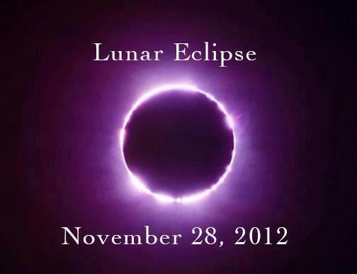 Hoy 28 11 2012 eclipse lunar energ as gal cticas for En q luna estamos hoy