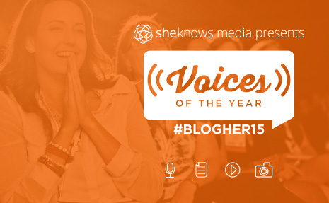2015 VOTY Award from Blogher