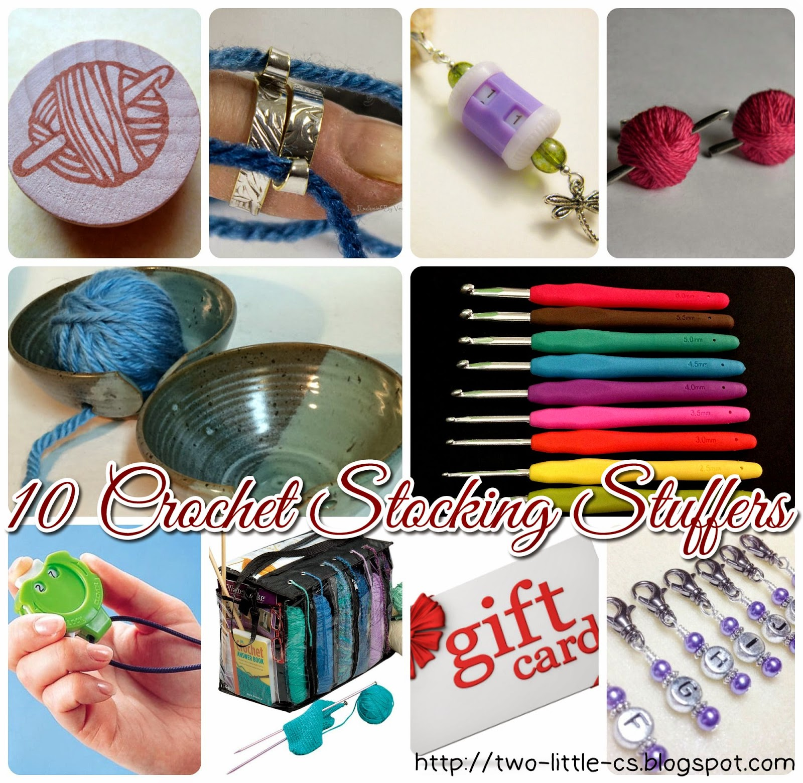10 Stocking Stuffer Ideas for a Crocheter