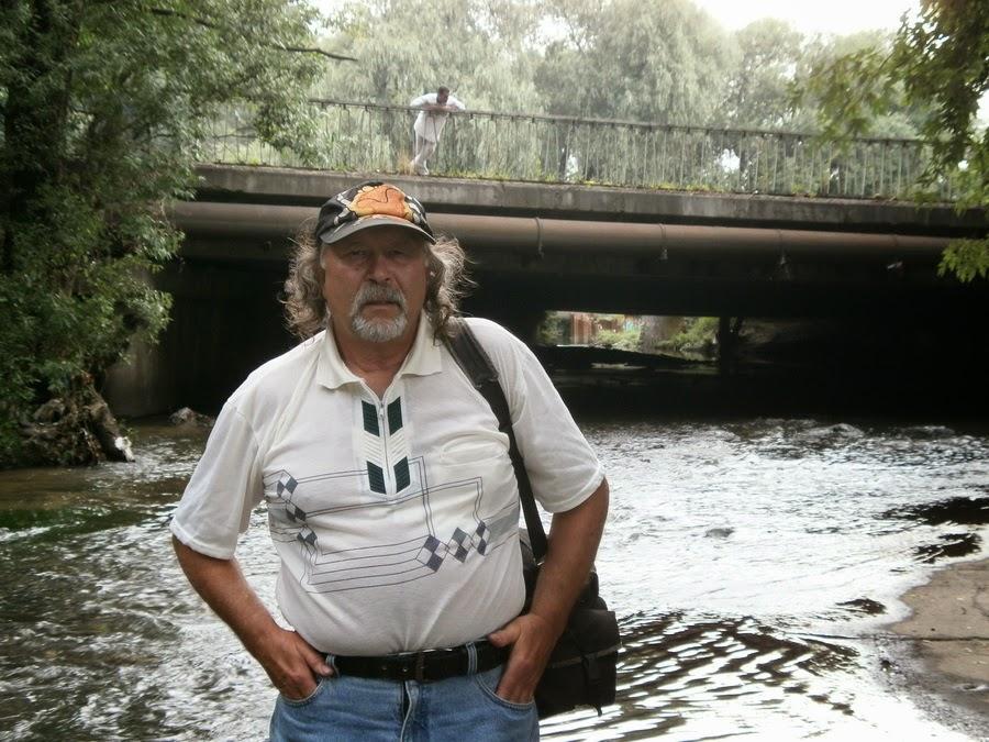 у моста на Лыбеди