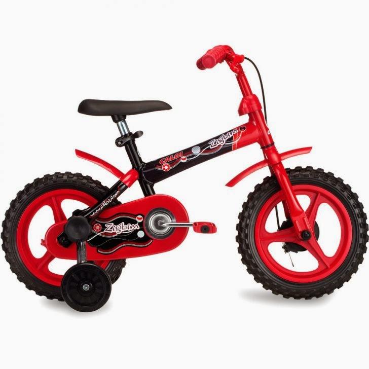 Bicicleta Caloi Zigbim Aro 12