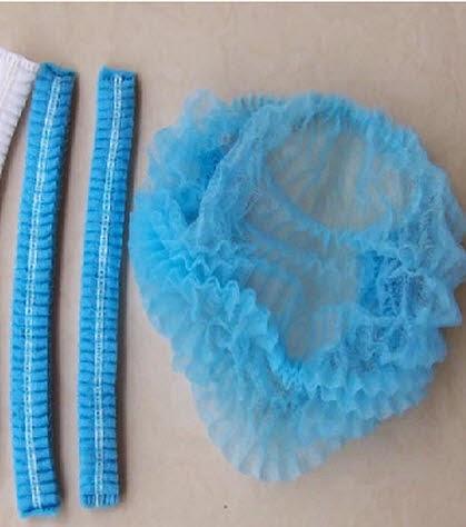 หมวกคลุมผม ตัวหนอนคลุมผมในร้านทำผมสปาซาลอน โรงแรมรีสอร์ท โรงงาน นำเข้า - พร้อมส่งW110 เซ็ท10ตัวราคา40บาท