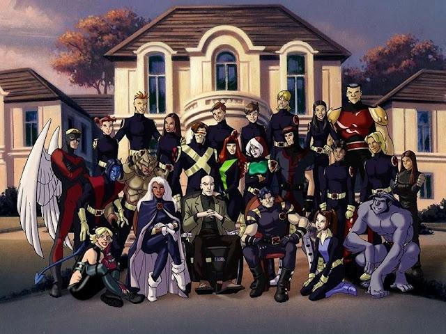 école  de super-héros