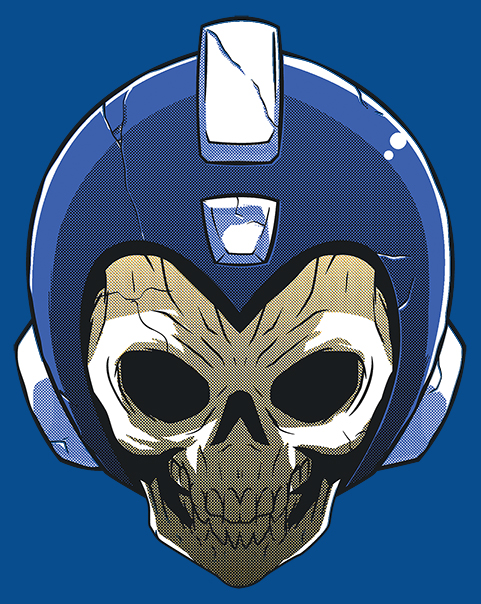 Quien mato a megaman totally random for Megaman 9 portada