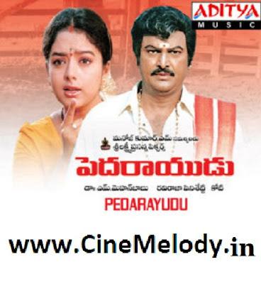 Pedarayudu Telugu Mp3 Songs Free  Download  1995