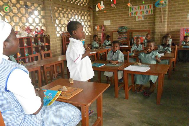 Scuola di Atchanvé, missione in Togo, Africa