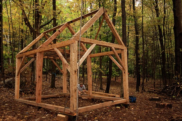 Small Timber Frame Shed Plans