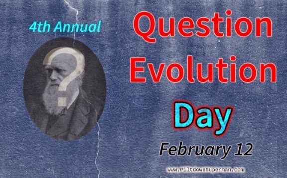 Question Evolution Day, Creation Science, The Question Evolution Project, Piltdown Superman