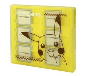 3DS/DS Pikachu 8pcs Cards Case MoriGames