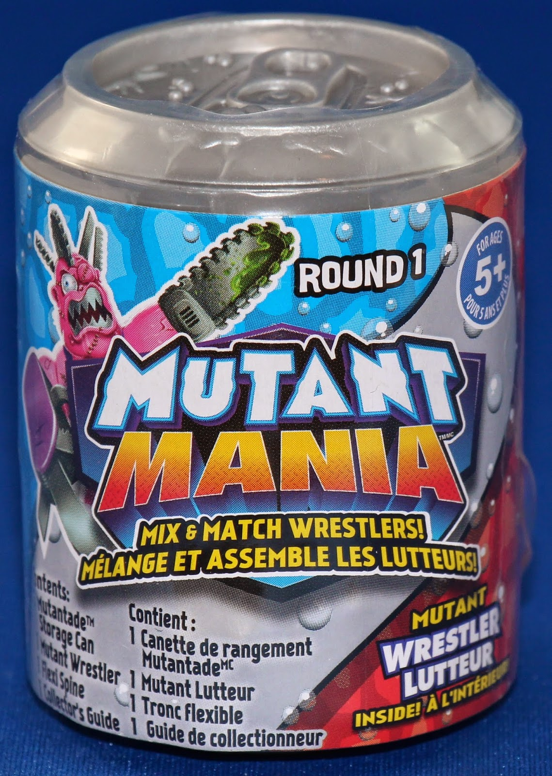 Mutant Mania 4 Wrestlers Pack Action Figure Claw Breaker    M-2