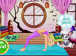 Yoga with Barbie