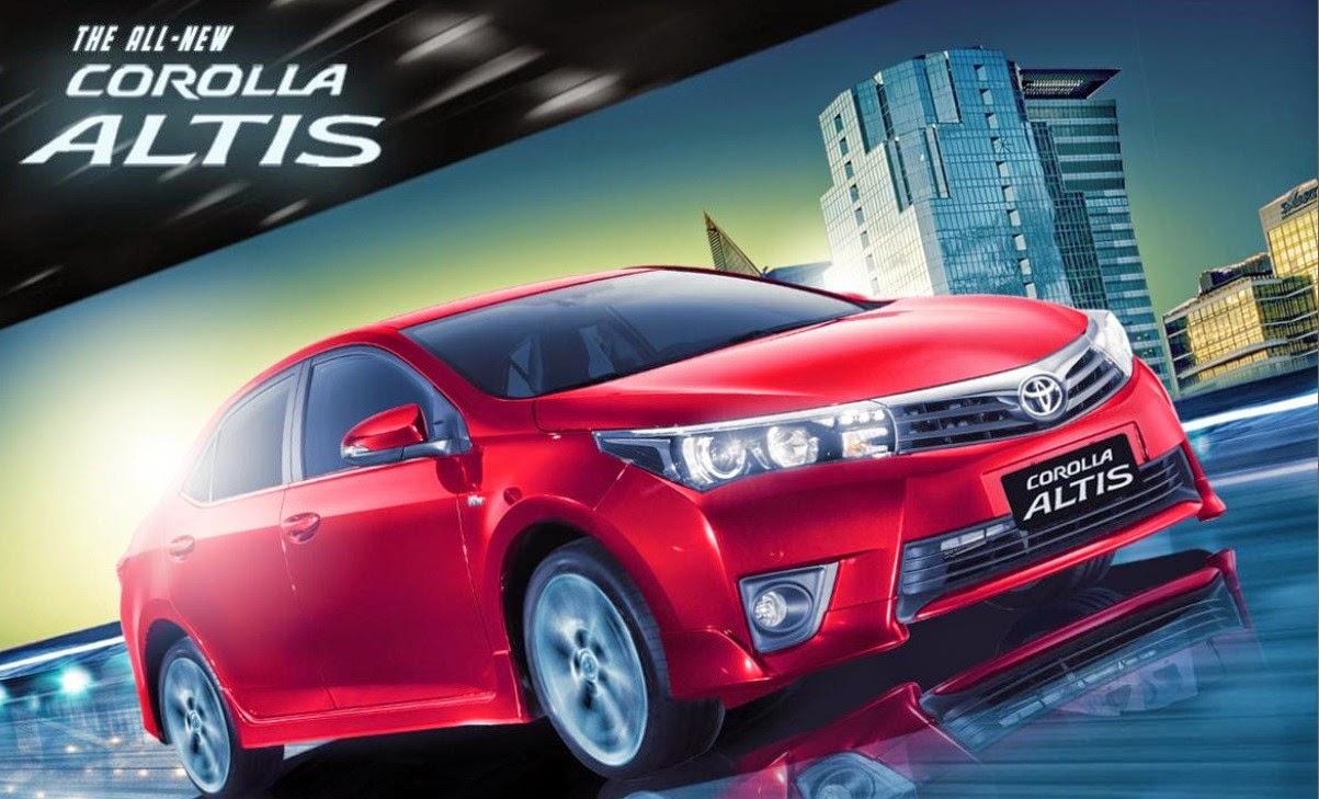 2015 Toyota Corolla Altis!