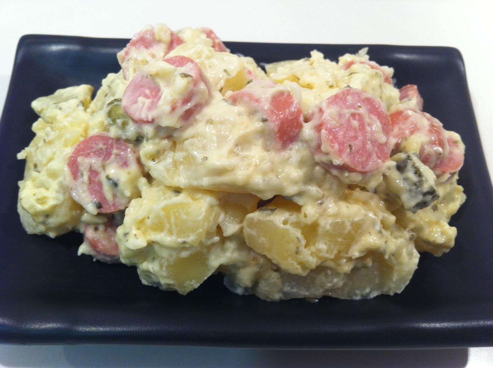 Recetas de cocina para todos ensalada de patatas alemana - Ensalada alemana de patatas ...