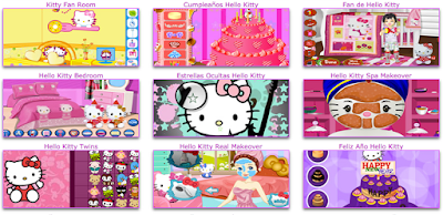 juegos mini de hello kitty
