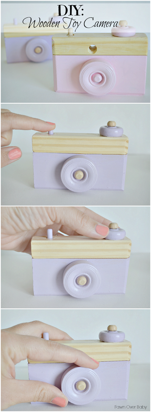 Fawn Over BabyDIY Wooden Toy Camera + Giveaway!