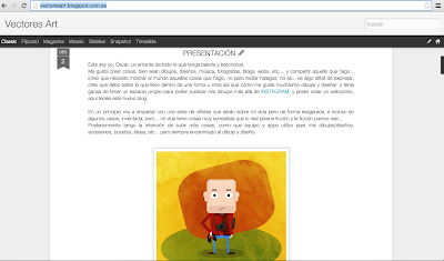 Enlace al blog Vectores Art