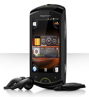 Sony Ericsson Android Live with Walkman