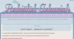 Tempahan Design Blog: Blog Rabiatul Adawiah