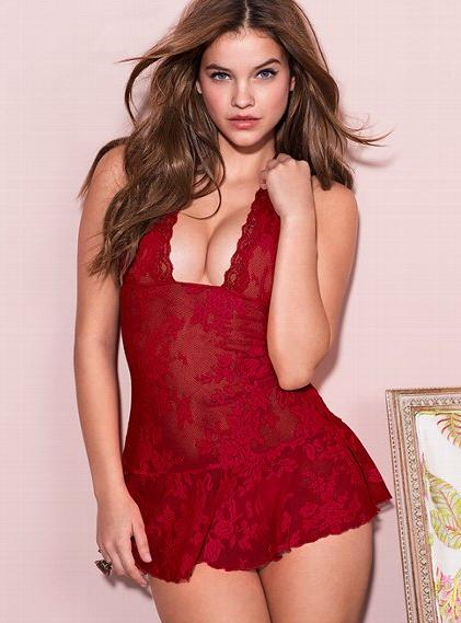 barbara palvin lace body
