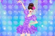 العاب تلبيس راقصة