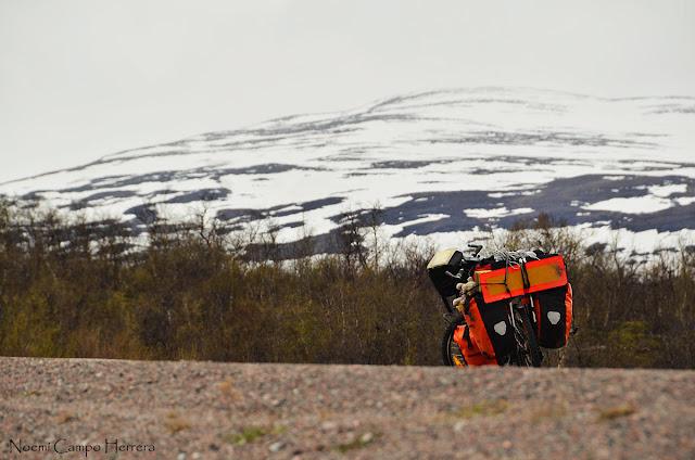 bici en Laponia