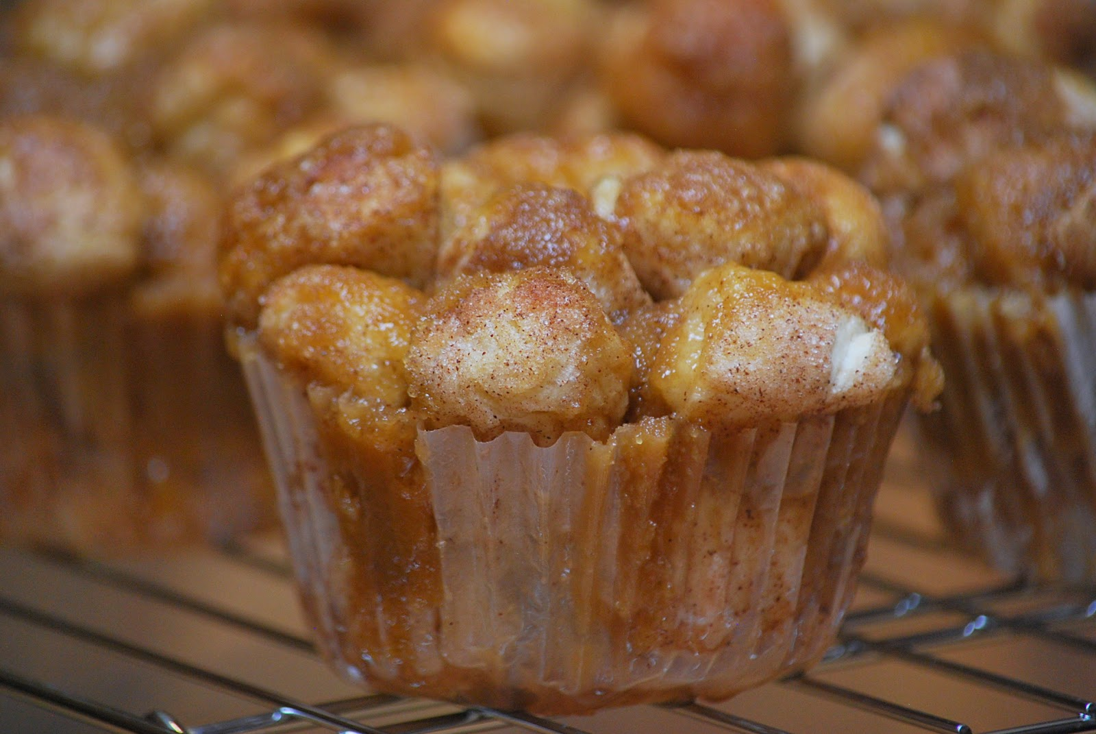My story in recipes: Monkey Bread Muffins