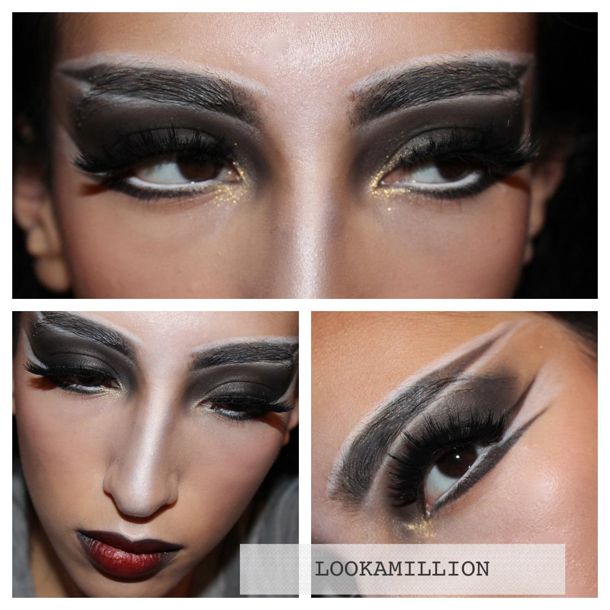 Lookamillion Vampirewitch Halloween Makeup Ideas