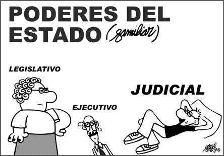el poder ejecutivo legislativo y judicial:
